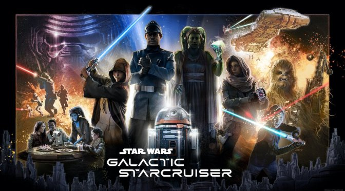 First Look | Star Wars Galactic Starcruiser Poster