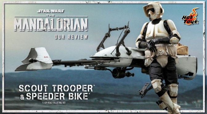 Hot Toys Review | Scout Trooper And Speeder Bike (The Mandalorian)