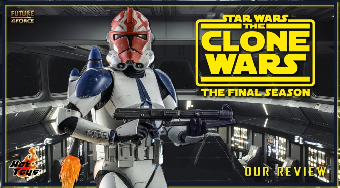Hot Toys Review | 501st Battalion Clone Trooper (Deluxe Version) (Star Wars The Clone Wars)