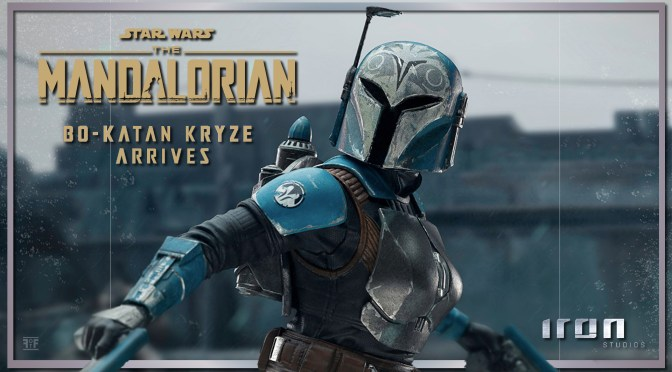 First look | Bo-Katan Kryze (The Mandalorian) By Iron Studios