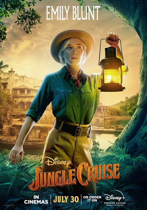 Jungle Cruise Emily Blunt Character Poster