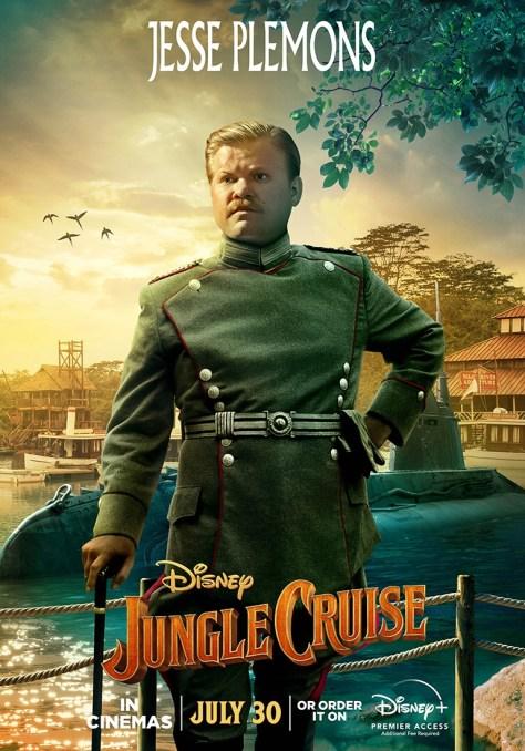 Jungle Cruise Jesse Plemons Character Poster