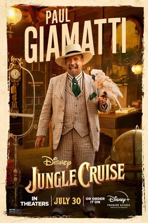 Jungle Cruise Paul Giamatti Character Poster 2