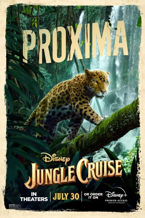 Jungle Cruise Proxima Character Poster 2