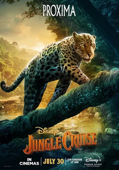 Jungle Cruise Proxima Character Poster