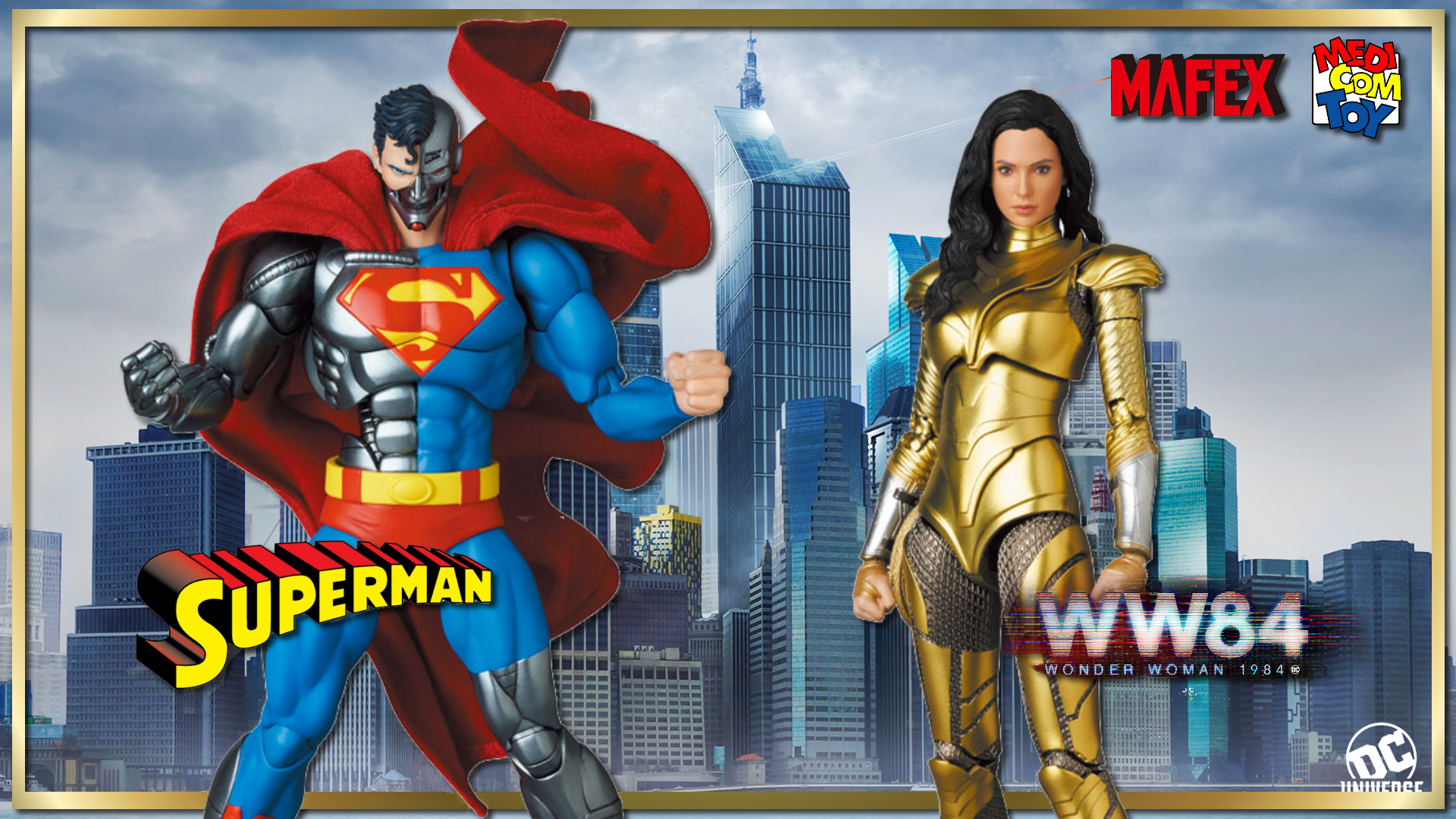 First Look | MAFEX Reveals New DC Comics Figures