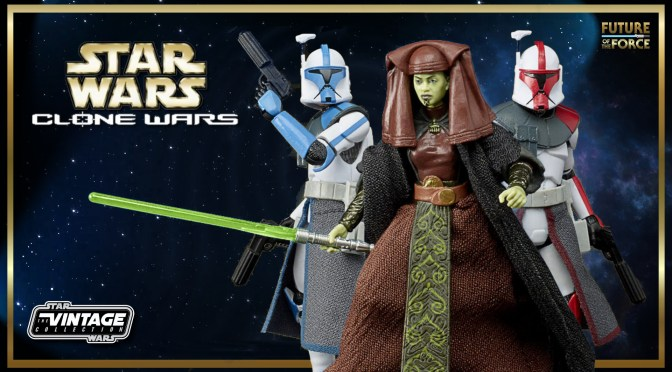 Hasbro Reveals New Clone Wars Micro Series Figures