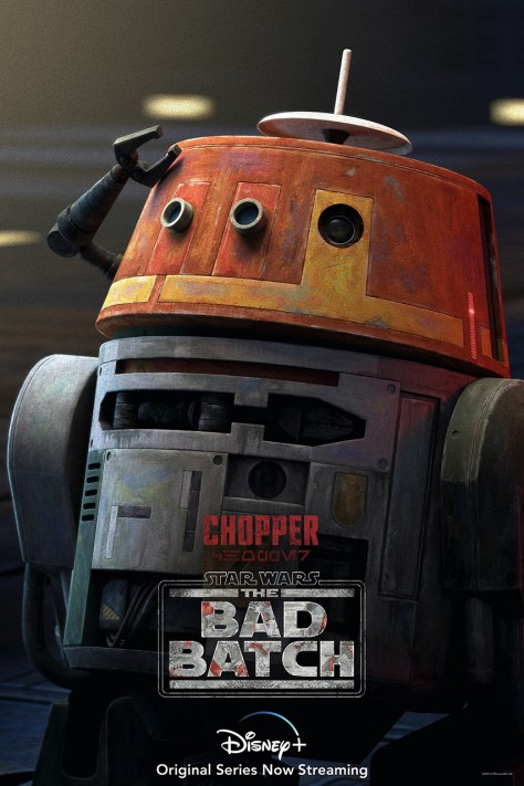 The Bad Batch Chopper Character Poster