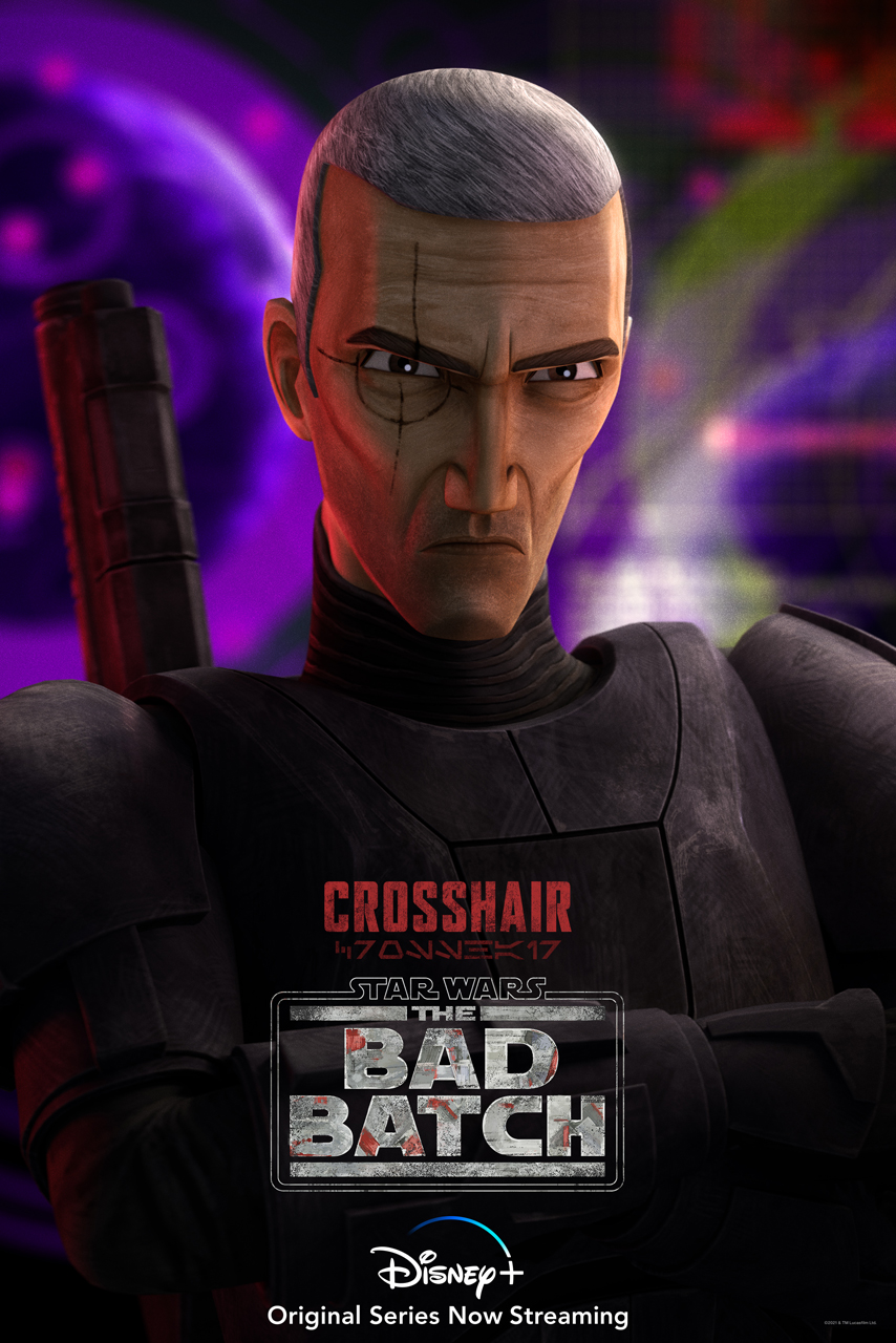 The Bad Batch Crosshair Character Poster 2