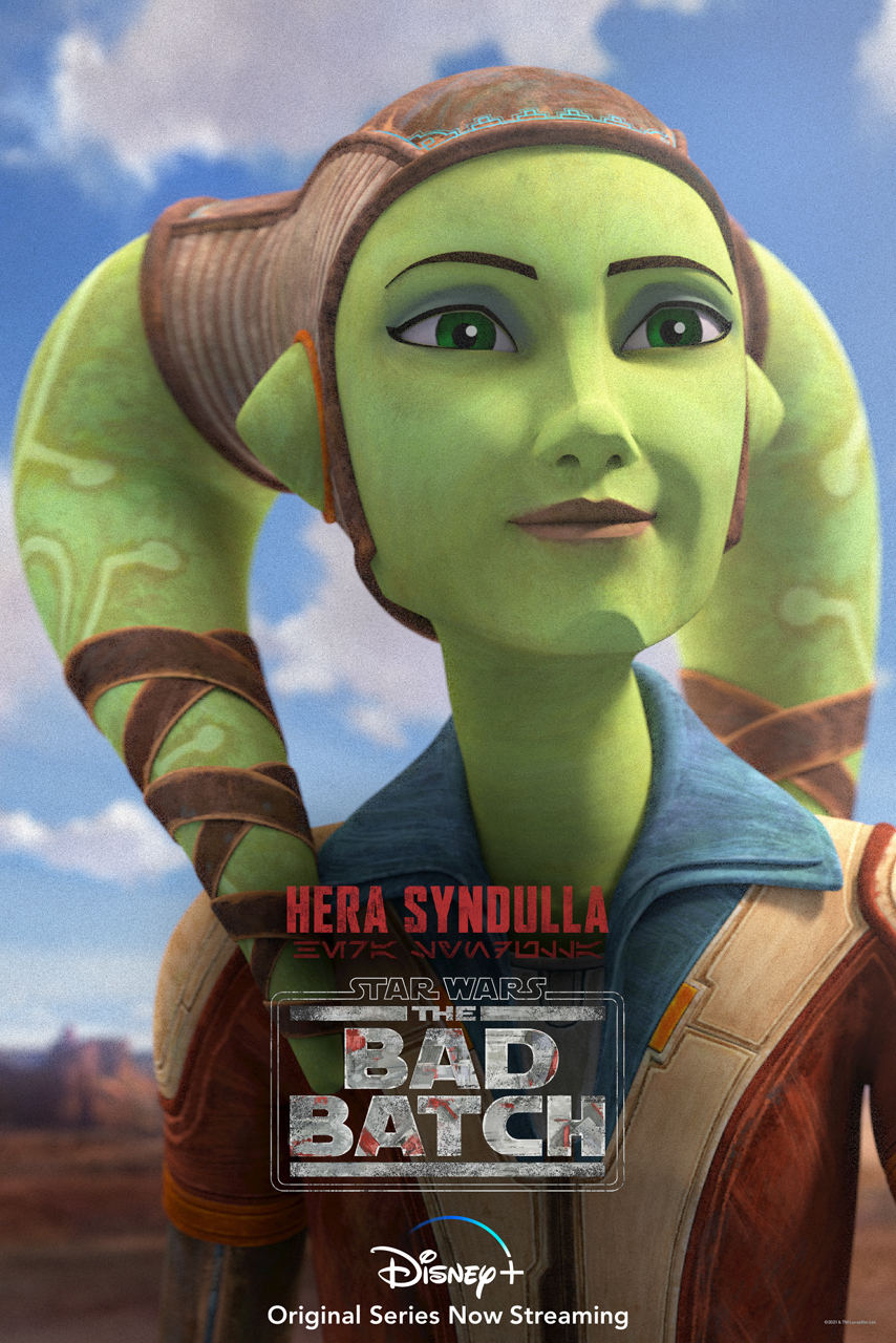 Hera Syndulla The Bad Batch Character Poster