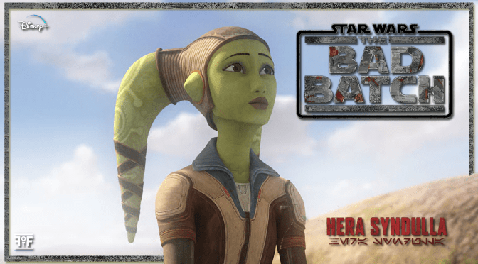 The Bad Batch | Hera Syndulla Character Poster
