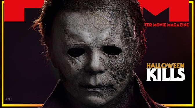 Total Film Drops Halloween Kills Melted Mask Photo!