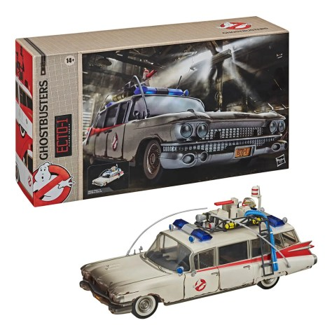 Hasbro Ghostbusters Plasma Series Ecto-1 Toy 6-Inch Scale Ghostbusters: Afterlife Collectible Vehicle
