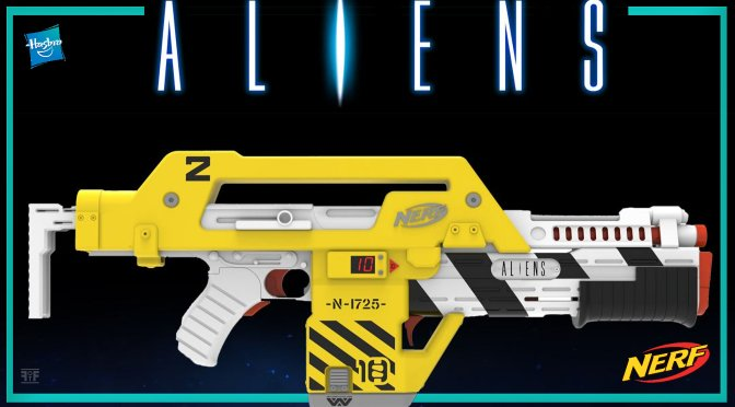 Embrace Your Inner Colonial Marine With Nerf's Aliens M41-A Pulse Rifle