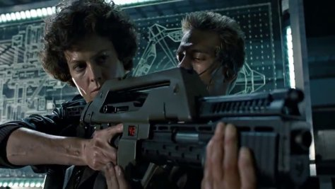Aliens Hicks and Ripley