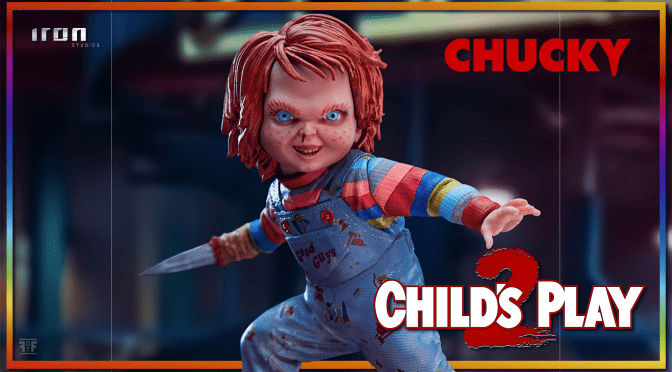 Child's Play 2 | Chucky Statue By Iron Studios