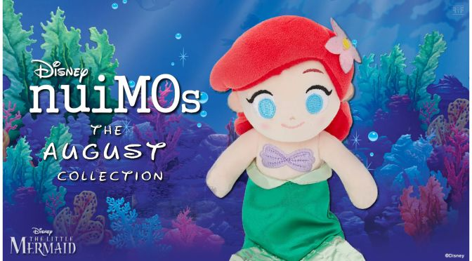 August's Disney nuiMOs Collection Has Arrived