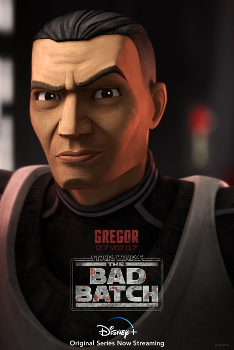 Star Wars The Bad Batch Gregor Character Poster