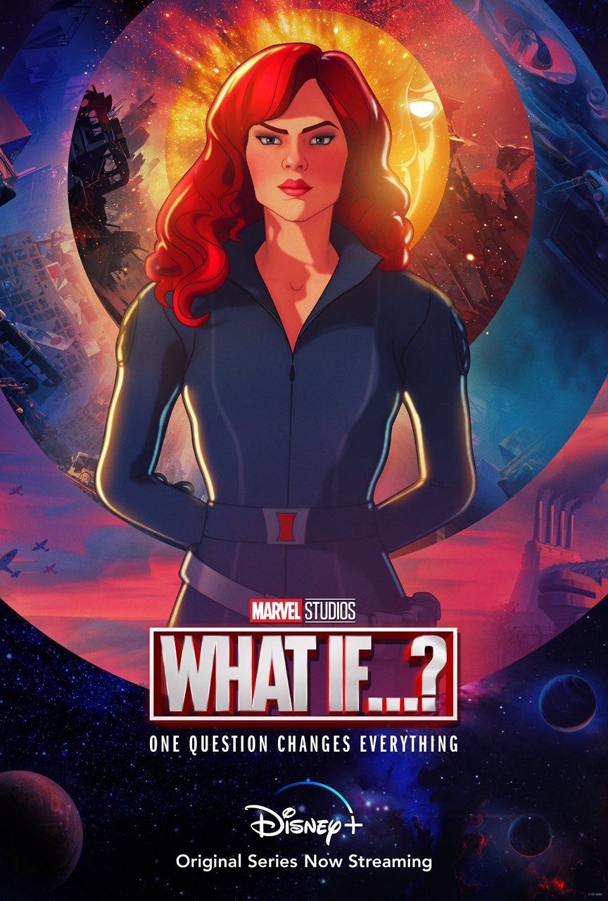 Marvel's What If...? Black Widow Character Poster