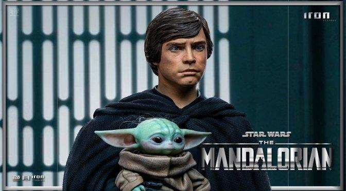 First Look | Luke Skywalker, Grogu, And R2-D2 Statue From The Mandalorian