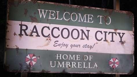 R/E: RACCOON CITY HEADER