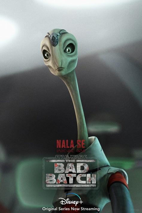 Star Wars The Bad Batch Nala Se Character Poster