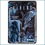 Super7 Aliens ReAction Figure - Alien Warrior Nightfall Blue