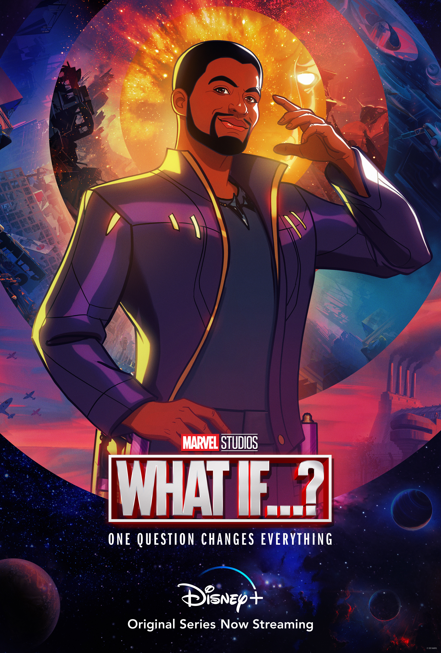 What If...? T'Challa Star-Lord Poster