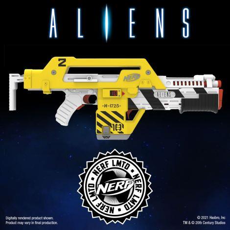 Aliens 35th Anniversary M41-a Pulse Rifle NERF