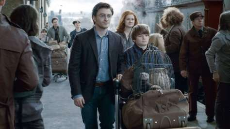 Albus Potter Heads Off To His Fourth Year