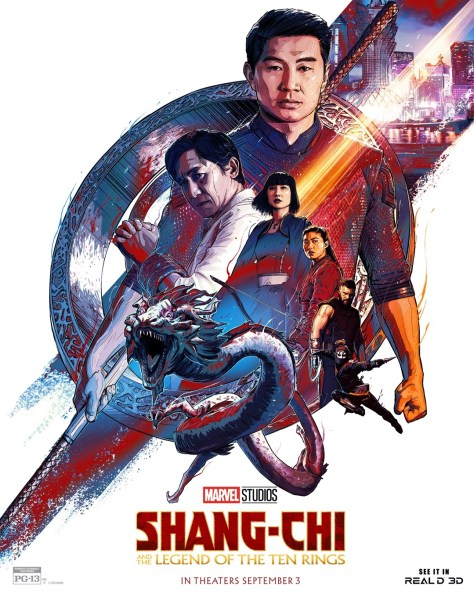 Shang-Chi And The Legend Of The Ten Rings Real D Poster