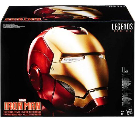 Hasbro Marvel Legends Avengers Iron Man Electronic Helmet