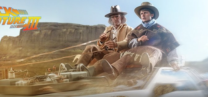 First Look | Hot Toys Marty McFly & Doc Brown (Back To The Future III)