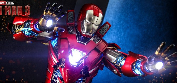 First Look | Hot Toys Silver Centurion (Armor Suit Up Ver.) (Iron Man 3)
