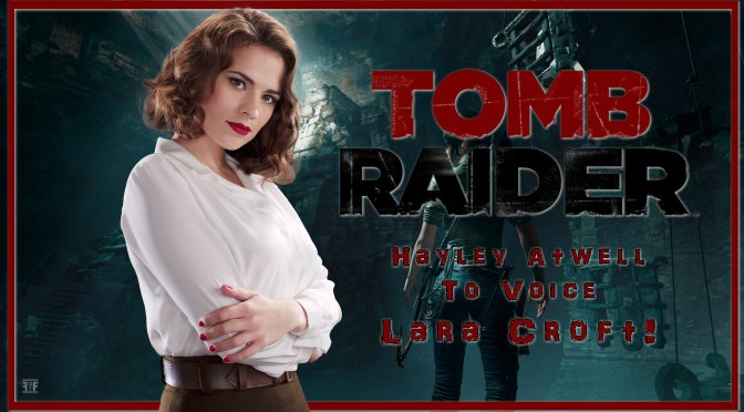Tomb Raider | Hayley Atwell's Lara Croft Gets The Anime Treatment!