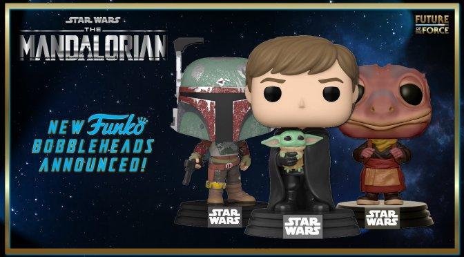 New Characters From The Mandalorian Are Getting The Funko Treatment!