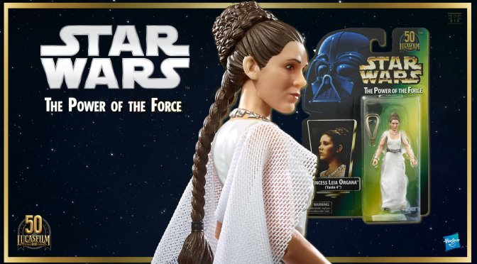 Star Wars The Black Series Princess Leia Organa (Yavin 4) Lucasfilm 50th Anniversary