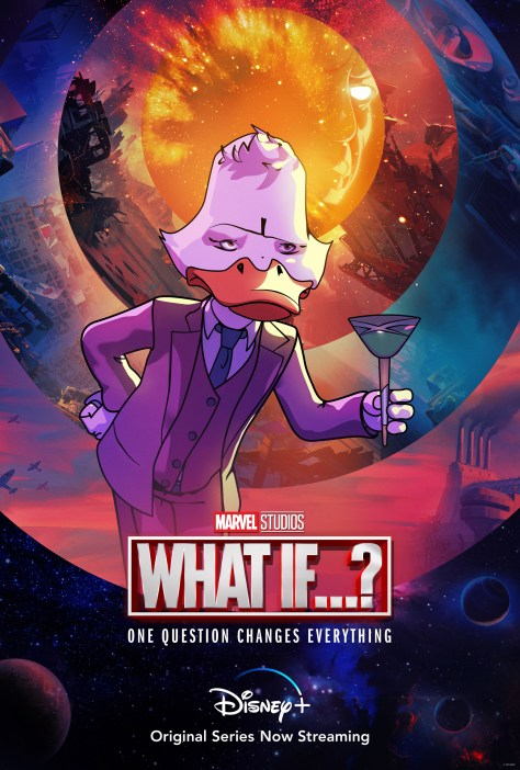 What If...? Howard The Duck Character Poster