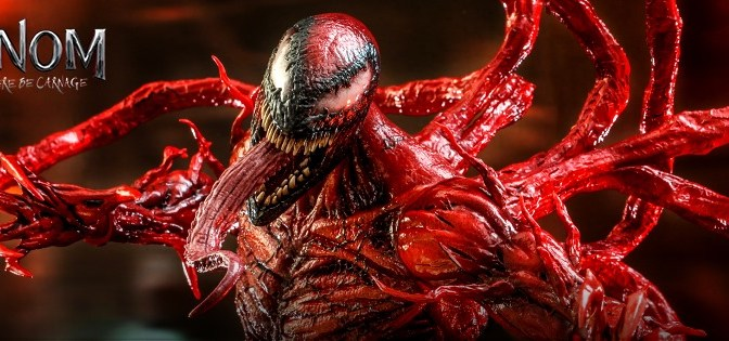 First Look | Hot Toys Carnage (Venom: Let There Be Carnage)