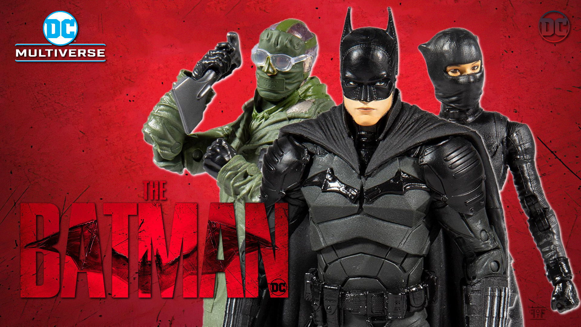 DC Multiverse The Batman Figures From McFarlane Toys Are Here!