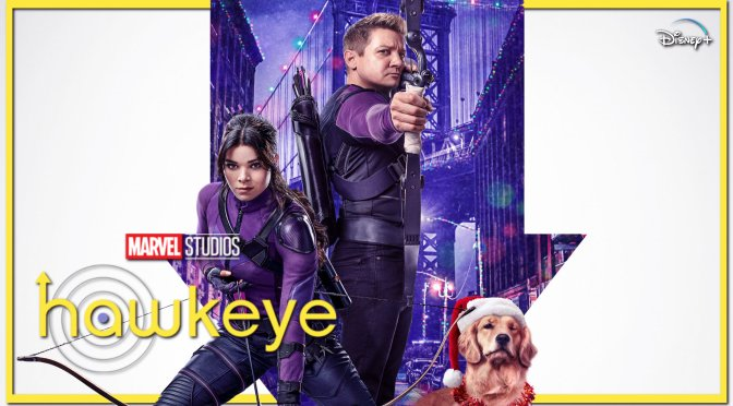 The Latest Poster For Marvel's Hawkeye Delivers The Disney Plus Cheer!