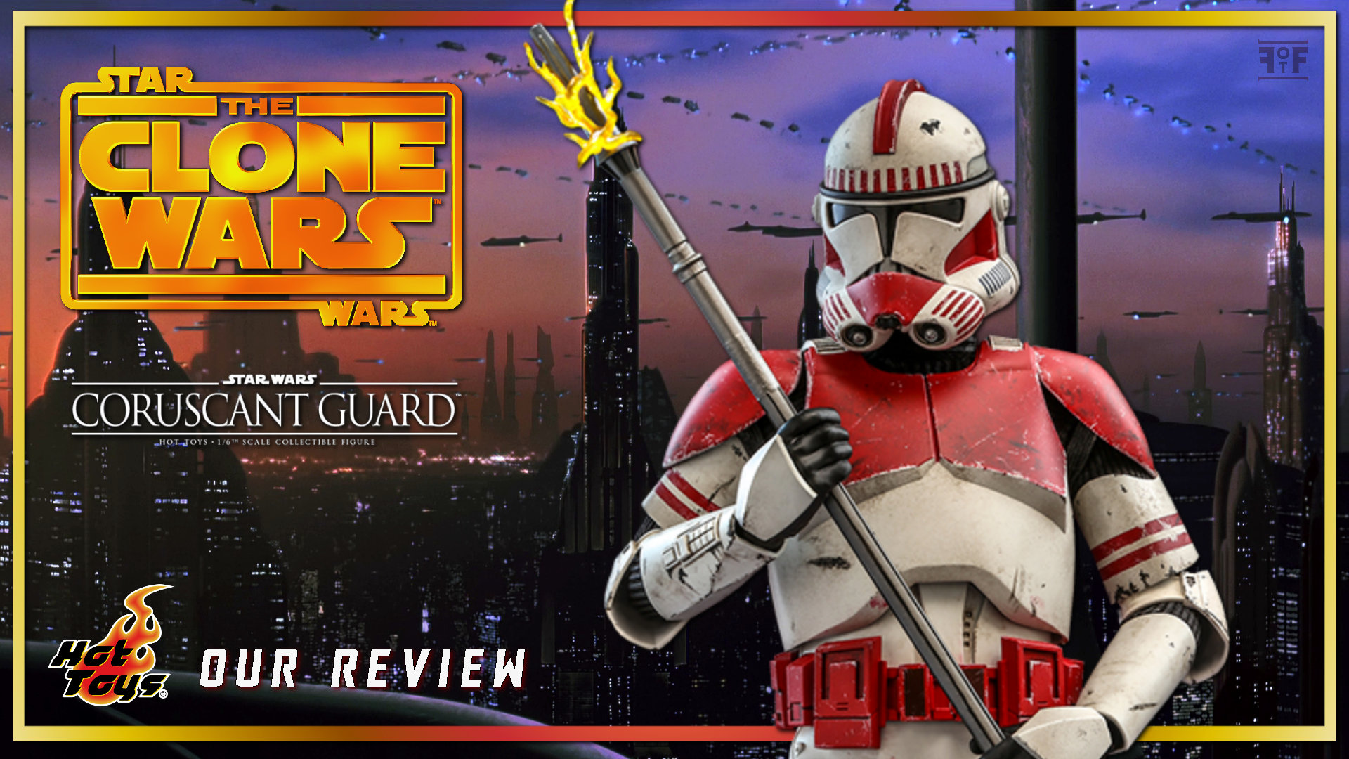 Hot Toys Review | Coruscant Guard (Star Wars: The Clone Wars)