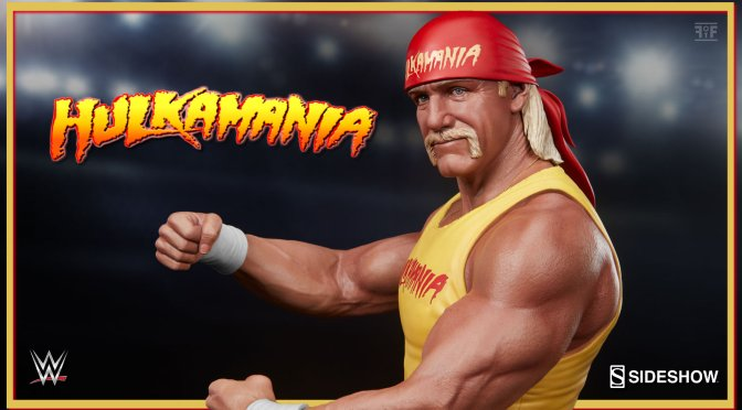 "New ""Hulkamania"" Hulk Hogan Statue Available From PCS And Sideshow"