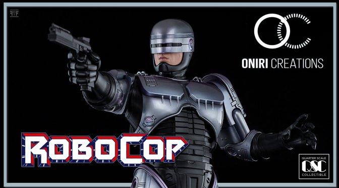 Oniri Creations Reveals New RoboCop 1/4 Scale Statue