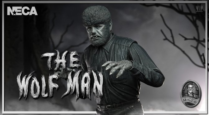 The Wolf Man Gets The Black And White Treatment From NECA