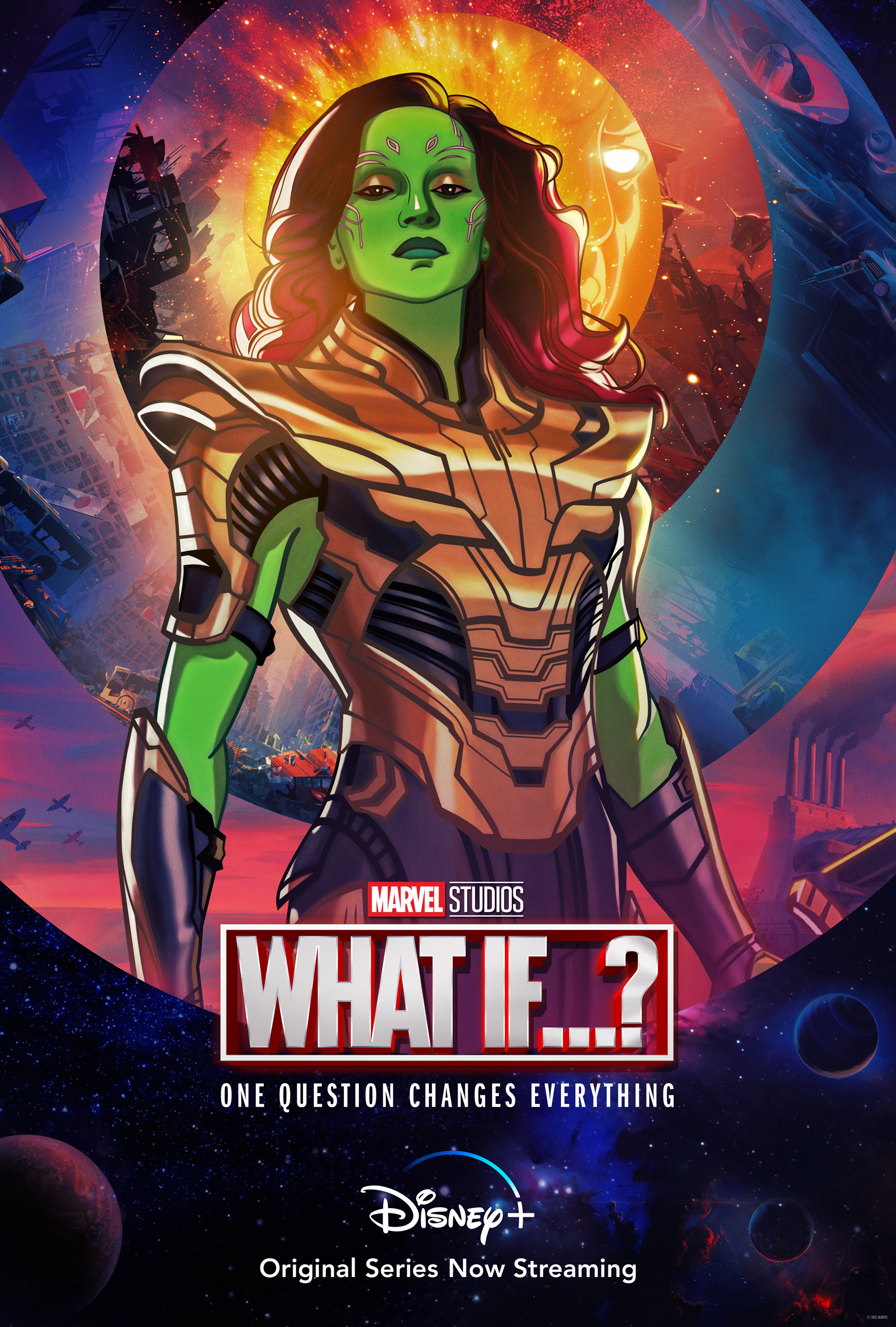What If...? Gamora Character Poster