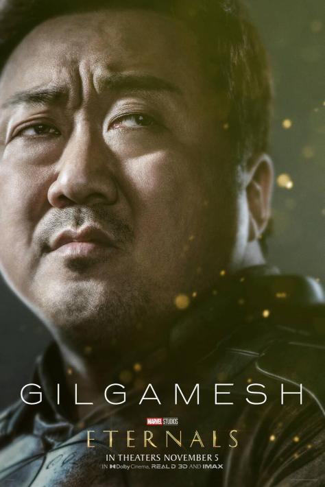 Eternals Character Poster Ma Dong-seok as Gilgamesh