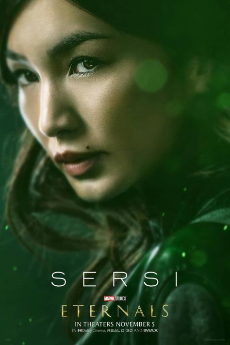 Eternals Character Poster Gemma Chan as Sersi