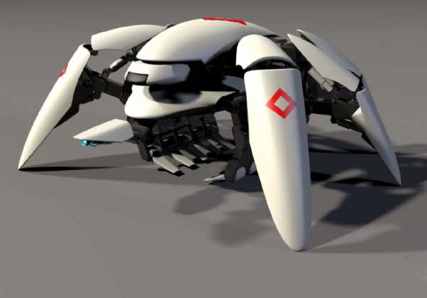 Giant Spider Bot To The Rescue Tfot