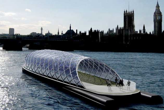 SolarLab Solar Powered Electric Boat TFOT